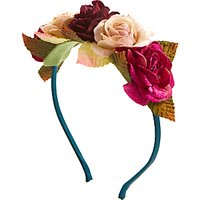 John Lewis Heirloom Collection Children's Floral Headband, Multi