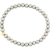 A B Davis 9ct Gold Pearl Bracelet