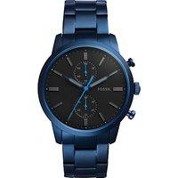 Fossil Mens Townsman Chronograph Bracelet Strap Watch