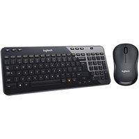 Logitech M220 Silent Mouse and K360 Wireless Keyboard Bundle