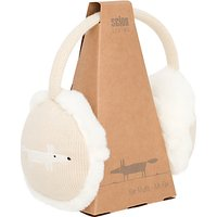 Scion Mr Fox Ear Muffs, Parchment Beige