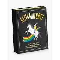 Knock Knock Affirmators Self Help Cards