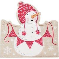 Ginger Ray Santa & Friends Napkins, Pack of 4