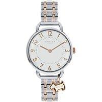 Radley RY4301 Women's Southwark Park Bracelet Strap Watch, Silver/Rose Gold