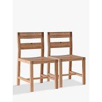 Hudson Living Kielder Dining Chairs, Set of 2, Oak