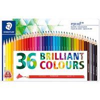 Staedtler Ergosoft Colouring Pencils, Pack of 36