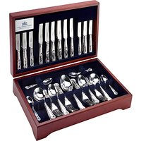 Arthur Price Kings Cutlery Canteen, Sovereign Silver Plated, 60 Piece