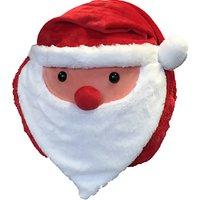 Cozy Time Santa Hand Warmer Cuddle Cushion, Multi