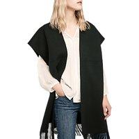 Gerard Darel Genova Wool Coat, One Size, Black