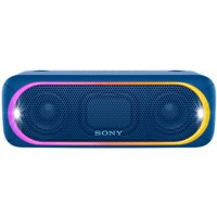Sony SRS-XB30 Extra Bass Water-Resistant Bluetooth NFC Portable Speaker with LED Ring & Strobe Lighting