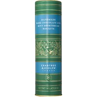 Crabtree & Evelyn Handmade Dark Chocolate and Mint Shortbread Biscuits, 200g