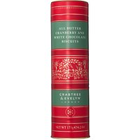 Crabtree & Evelyn All Butter Cranberry and White Chocolate Biscuits, 175g