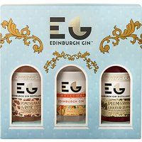 Edinburgh Gin Winter Palace Christmas Liqueurs, 3x 20cl