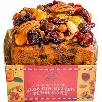 Cottage Delight Sloe Gin Glazed Plum Cake, 500g