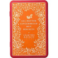 Crabtree & Evelyn All Butter Gingerbread Men Biscuits, 200g