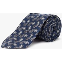 John Lewis Classic Paisley Woven Silk Tie