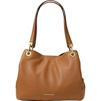 MICHAEL Michael Kors Raven Leather Large Shoulder Bag