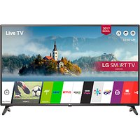 LG 49LJ594V LED Full HD 1080p Smart TV, 49 with Freesat HD & Freeview Play, Black