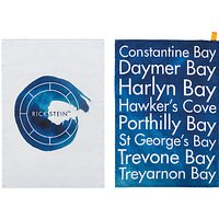 Rick Stein Coves of Cornwall Tea Towels, Set of 2