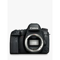 Canon EOS 6D MK II Digital SLR Camera, GPS, 1080p Full HD, 26.2MP, Wi-Fi, Bluetooth, NFC, 3 Vari-angle Touch Screen, Body Only