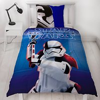 Star Wars The Last Jedi Print Reversible Duvet Cover and Pillowcase Set, Single