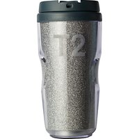 T2 Velvet Glitter Drinks Flask, Grey, 250ml