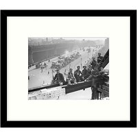 Getty Images Gallery - Tea Break 1931 Framed Print, 57 x 49cm