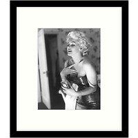 Getty Images Gallery - Marilyn Getting Ready 1955 Framed Print, 57 x 49cm