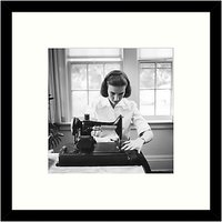 Getty Images Gallery - Home Sewing 1955 Framed Print, 49 x 49cm