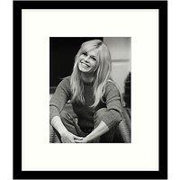 Getty Images Gallery - Brigitte Bardot 1966 Framed Print, 49 x 49cm