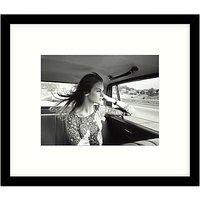Getty Images Gallery - Jean Shrimpton 1966 Framed Print, 57 x 49cm