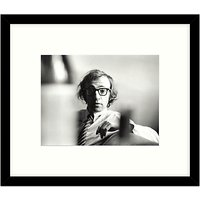 Getty Images Gallery - Woody Allen 1970 Framed Print, 57 x 49cm