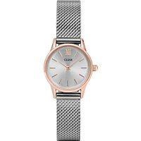 CLUSE CL50024 La Vedette Mesh Bracelet Strap Watch, Silver