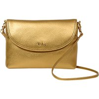 Tula Party Small Leather Cross Body Flap Bag