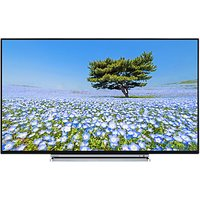 Toshiba 43U6763DB LED 4K Ultra HD Smart TV, 43 with Built-In Wi-Fi, Freeview HD & Freeview Play, Bla