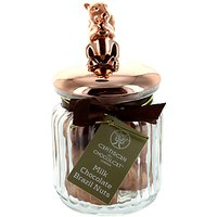 Artisan du Chocolat Milk Chocolate Brazil Nuts Squirrel Jar, 160g