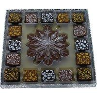 Artisan du Chocolat Assorted Snowflake Chocolate and Truffles Box, 190g