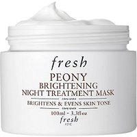 Fresh Peony Brightening Night Treatment Mask, 100ml
