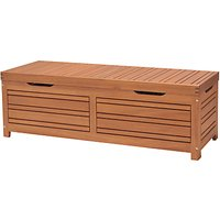 John Lewis and Partners Venice Storage Box and Bench, FSC-certified (Eucalyptus Wood), Natural