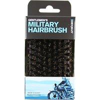 Denman Gentleman's Club Preium Military Natural Bristle Hairbrush