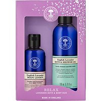 Neals Yard Remedies Relax Lavender Bath and Body Duo