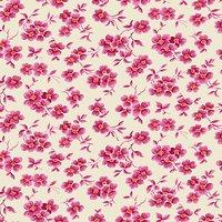 Freespirit Wall Flower Print Fabric