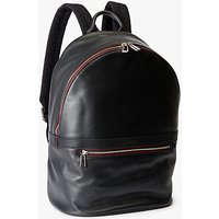 PS by Paul Smith Calf Leather Backpack, Black