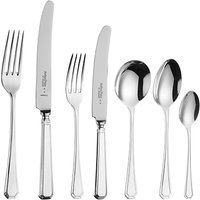 Arthur Price Grecian Stainless Steel Cutlery Set, 56 Piece