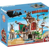 Playmobil Dragons Berk Island Fortress Play Set