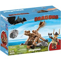 Playmobil Dragons Gobber With Catapult Play Set