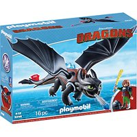 Playmobil Dragons Hiccup And Toothless Play Set