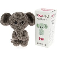 Hoooked Crochet Your Own Elephant Kit, Taupe