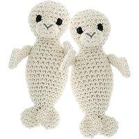 Hoooked Seal Crochet Kit, Almond
