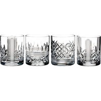 Waterford Lismore Stories Revolution Tumblers, Set of 4
